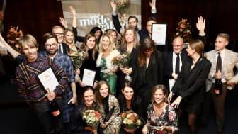 Alla vinnarna på Habit Modegalan 2018.