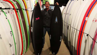 Hydroflex surfboards - Tech Series, video review