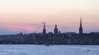 Gamla Stan i Stockholm ligger just där Mälaren möter Östersjön. Det är ett område som länge varit påverkat av staden. Foto: Gunnar Aneer/Azote.