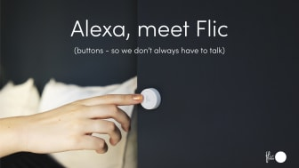 Flic buttons can now trigger Amazon Alexa commands.