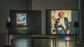 Lawrence Abu Hamdan, Dirty Evidence, installationsvy
