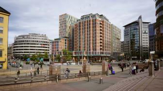 Clarion Hotel The Hub öppnade fredagen den 1 mars och är Oslos största hotellsatsning någonsin