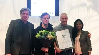 100% Cirkulärt tilldelas Kalf & Hansen, Stockholm