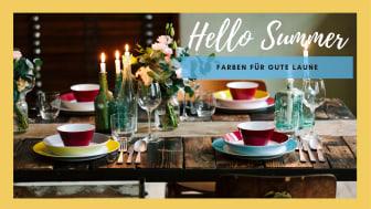 Hello Summer: Heitere Farben und bunte Designs für gute Laune