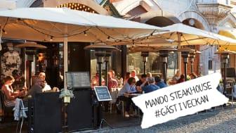 Mando Steakhouse använder märkningen Kött från Sverige. Följ dem på Från Sveriges Instagram under vecka 43.