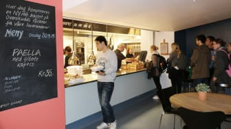 KUTT Gourmet permanent pop-up-kafe på Blindern