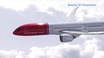 Boeing Dreamliner 787-9 « Greta Garbo » (imagen renderizada).