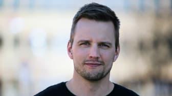 Emil Marklund doktorand Institutionen för idé- och samhällsstudier Foto: Per Melander, Umu
