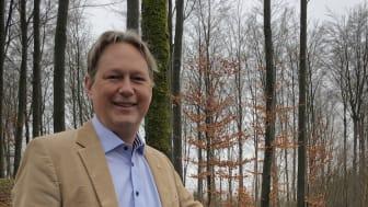 Patric Wichmann, miljö- och hållbarhetschef Woody Bygghandel