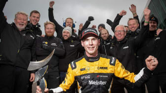 Tobias Brink, Brink Motorsport. Foto: Anders Helgesson