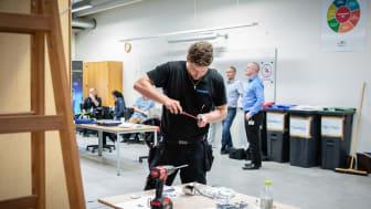 Onsdag blev der afholdt regionsmesterskaber for elektriker elever.