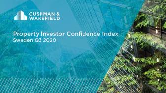 """Cushman & Wakefields senaste """"Property Investor Confidence Index"""" vittnar om ett stort intresse för hållbarhet och hyresbostäder"""