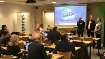 Premiecentralutbildning hos Skandia