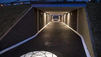 Göteborg Energi DinEl inviger briljant tunnel i Tynnered