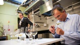 Konsentret Arne Ronold smaker Charles Heidsieck Champagne