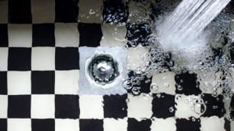 Boende i Hurva kan nu använda sitt vatten som vanligt – men tänk på att alltid hushålla med dricksvattnet! Kanske dusch istället för bad?