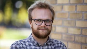 Bram Vaassen, doktorand i filosofi   Foto: Per Melander, Umu