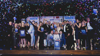 Local businesses celebrate at the Made in Bury Business Awards 2018