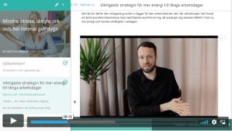 Varje webbkurs innehåller totalt ca 2h exklusiva video-genomgångar av Mattias, uppdelade i korta avsnitt.