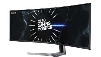 Samsung lanserer 240Hz G-Sync Compatible Curved CRG5 gaming-monitor i Europa under Gamescom 2019