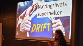 – Drifterne er næringslivets superhelter, sa Katharina Th. Bramslev da hun åpnet Årets grønne driftskonferanse.