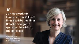 FrauenZimmer Botschafterin Daniela Baisch (print)