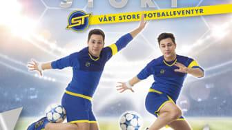 """Boka """"SkillTwins – The story. Vårt store fotballeventyr"""" forteller historien om hvordan tvillingbrødrene Jakob og Josef ble stjerner på YouTube, og gir oppskriften på masser av kule fotballtriks. Men det er også en bok om viktigheten av """"fair play""""."""