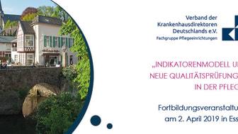 """Newsletter KW 12: """"INDIKATORENMODELL UND NEUE QUALITÄTSPRÜFUNGEN IN DER PFLEGE"""""""