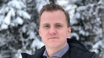 Martin Lindfors - ny centrumledare på Visit Umeå