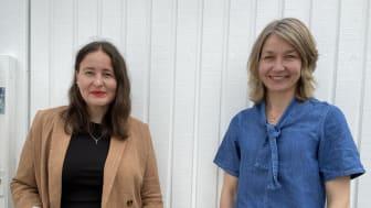 Marie Hammarberg, kurator och Anna Enström, skolöverläkare på barn- och ungdomsförvaltningen, har arbetat fram Hälsoutbildningen