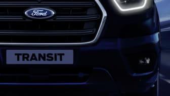 Her er nye 2-tonns Ford Transit