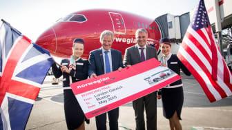 Norwegian lancerer direkte rute mellem London og Boston