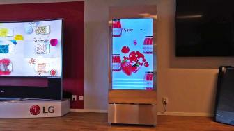 LG Transparent Cooler