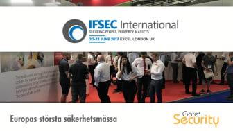 Gate Security på IFSEC 2017