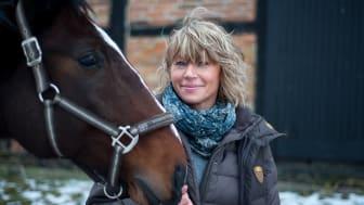 Margaretha och hennes häst Killen