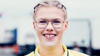 Mimmi Roslin är en av 14 som tävlar i TYA-SM. Foto: Evelina Carborn