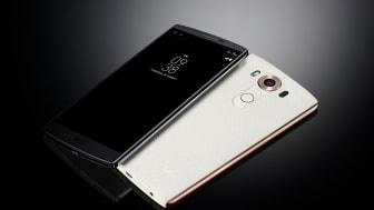 DEN 20. JANUAR KOMMER LG'S SMARTPHONE V10 TIL DANMARK