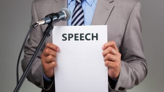 Sometimes reading a speech is unavoidable. So, how can you do it well?