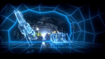 Fossilfri gruva. Gruv- och mineralnäringen är övertygade om att omställningen kommer att lyckas. Utvecklingen kommer dock att ta tid och vara kapitalkrävande. Politiken måste möta upp. Foto: Epiroc