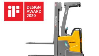 ERC 216zi staplaren vinner iF Design Award