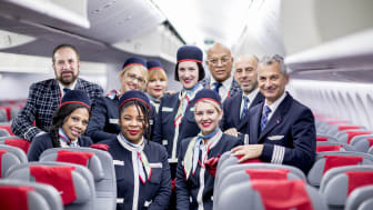 Norwegians langdistansebesetning i en 787 Dreamliner.