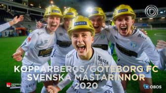 Kopparbergs/Göteborg FC är bäst i Sverige - säkrade guldet i näst sista omgången