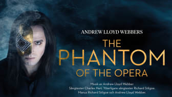 The phantom of the opera på GöteborgsOperan. Premiär 23 september 2017