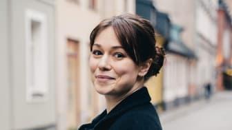 Influencern Tess Waltenburg inspirerar till en hållbar livsstil. Foto: Nils Sjöholm