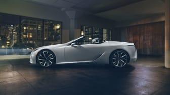 Lexus LC Convertible Concept får verdenspremiere i Detroit