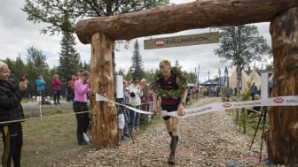 Medtagen Kleist vann Axa Fjällmaraton