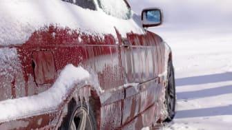 Var förberedd på snö och is