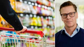 Carl Eckerdal, chefekonom på Livsmedelsföretagen, förutspår höjda matpriser redan i höst