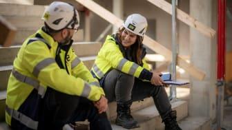 JSB Construction effektiviserar sina byggprocesser med hjälp av AddMobiles projekthanteringssystem. Bild: JSB Construction AB