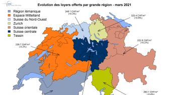 Les loyers baissent, mais pas partout en Suisse
